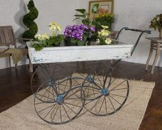 flower cart/outdoor serving table