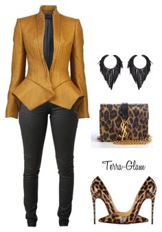 Simply Slayed by terra-glam on Polyvore featuring polyvore, fashion, style, Haider Ackermann, Acne Studios, Christian Louboutin and Yves Saint Laurent #bisuteria #colombiana #bisuteriacolombiana #bisuterias  #argentina