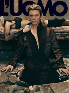 David Bowie. By Klein, September 2003