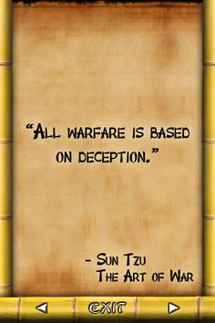 Asian quotes about deceive