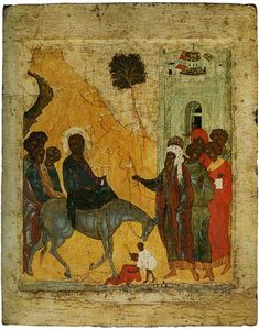 The Entry into Jerusalem, Andrei Rublev