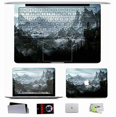 "Macbook Pro 13.3"" Skin Decal Sticker (NOT PRO 13.3 RETINA) - Nature Clouds Mountains Clouds Dragons Forest The Elder Scrolls V Skyrim Nature Clouds Natrue Macbook Skin http://www.amazon.com/dp/B00NA7JPPG/ref=cm_sw_r_pi_dp_yiuBub1TYEJRX"