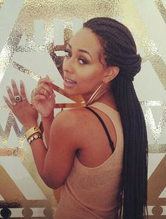 Keri Hilson's Perfect Box Braids • Braided Beauty • Protective Styles • Extensions • Singles • Braids