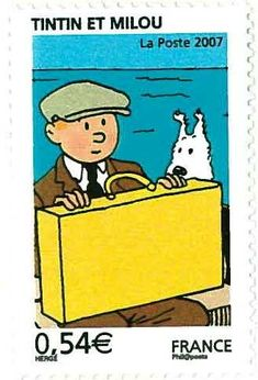 Tintin France 2007 Tintin et Milou by PCmarja2006, via Flickr