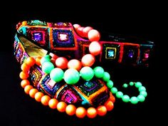 Beaded shoes and beads
