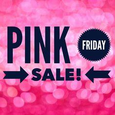 "Mary Kay ""Pink Friday"" Sale on Black Friday!!! Shop Online 24/7: www.marykay.com/gretatifre"