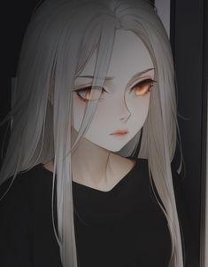 Dark Anime Girl, Manga Anime Girl, Cool Anime Girl, Pretty Anime Girl, Anime Girl Drawings, Kawaii Anime Girl, Anime Girl Crying, Anime Angel Girl, Gothic Anime