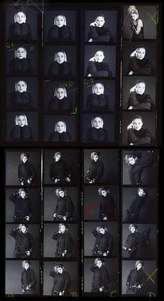 Madonna  Contact Sheet 1980's