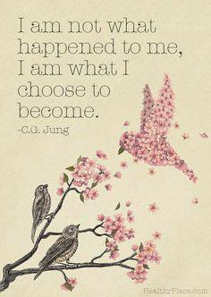 I am who I choose to be.