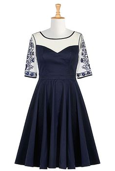 67d0b635b5edc I really think this should be my dress for the next MoDG Ball. Navy Dress