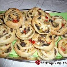 Μανιταροπιτάκια νηστίσιμα συνταγή από Mapanana - Cookpad Doughnut, Stuffed Mushrooms, Food And Drink, Cooking Recipes, Vegan, Baking, Ethnic Recipes, Desserts, Bakken