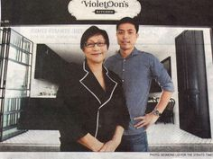 Violet Oon's Kitchen at 881 Bukit Timah Road is opening soon! :)