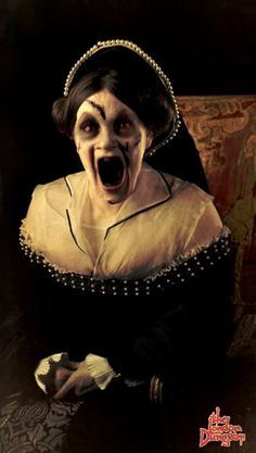 """Banned United Kingdom """"Bloody Mary"""" Digital Poster Advertisement For """"The London Dungeon"""""""