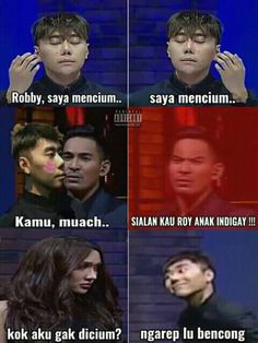 nGAKAK SEKEBON Jokes Quotes, Dankest Memes, Funny Quotes, Super Funny Memes, Memes Funny Faces, Funny Tweets Twitter, All Meme, Cute Love Memes, Drama Memes