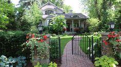 Win tickets for TBG Garden Gate tour in Toronto's Kingsway Win Tickets, Private Garden, Garden Gates, Botanical Gardens, Toronto, Home And Garden, Tours, Outdoor Structures, Canada