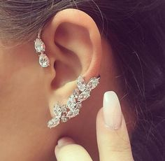 Ear cuff, yes or no? #jewelry #pretty #earcuff #jotd