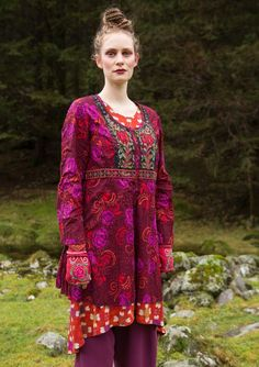 """""""Mette"""" blouse in eco-cotton – Denmark – GUDRUN SJÖDÉN – Webshop, mail order and boutiques 