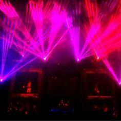 Laser media test for show. - DJ MYNDGAME    #EDM #TRANCE #PLUR #MYNDGAME #DJ