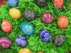 Lithuanian Eggs . . would be wonderful for Easter