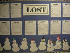 Lost:  Snowman