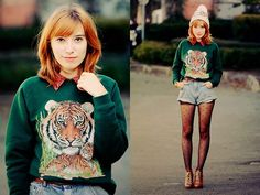 Kenzo who ? (by Cookies (Typhaine) Augusto) http://lookbook.nu/look/4165528-Kenzo-who