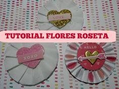 TUTORIAL FLORES ROSETA - YouTube