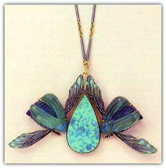 René Lalique | Gepind door: www.sieradenschilderijenatelierjose.com