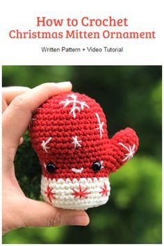All Free Crochet, Learn To Crochet, Crochet Toys, Christmas Bells, Christmas Tree Ornaments, Crochet Christmas Decorations, Crochet Keychain, Xmas Ideas, Fun Projects