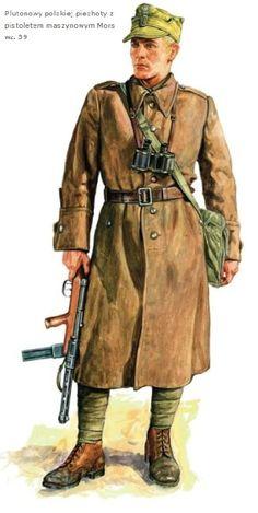 Esercito Polacco - Fante con Mitra Mors 39