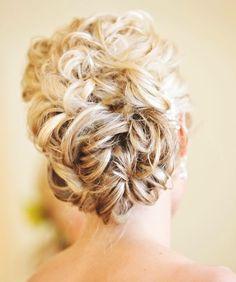 Wedding Hair. <3