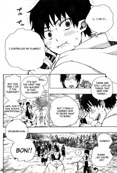 So proud of Rin. :') (Ao no Exorcist)