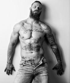 Tattoo plow hairy