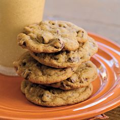 If chocolate chip cookies are your favorite cookies, whip up a batch of these all-time favorite chocolate chip cookies.  They're the best of the best.
