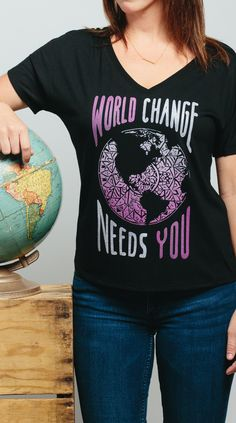 This world needs YOU! What are you waiting for? Go out there and change lives. #Sevenly #GiveBack