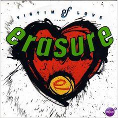 """Erasure Victims of love 1987 12"""" vinyl single record 12 MUTE 61 on eBid United Kingdom"""