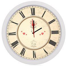 Wanduhr Küche lautlos Retro Stil Büro Uhr Vintage | Wanduhr küche ...