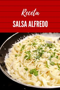 Pasta Alfredo Receta, Salsa Alfredo, Spaghetti, Xmas Dinner, Tasty, Yummy Food, Deli, Macaroni And Cheese, Catering