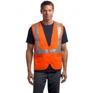 CSV405 CornerStone Mens ANSI Class-2 Mesh Safety Vest Jacket