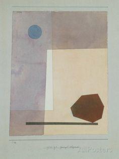Gewagt Wägend Sammlerdruck von Paul Klee bei AllPosters.de