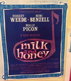 #milkandhoney #yorktheatercompany #musicalsinmufti