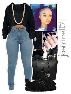 """Tre'K~Nothing Wrong Ft.Kodie Shane"" by jasmine1164 ❤ liked on Polyvore featuring adidas Originals and Forever 21"
