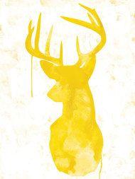 Oh Deer - Yellow