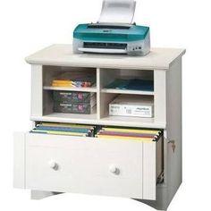 file cabinet printer stand - Google Search More