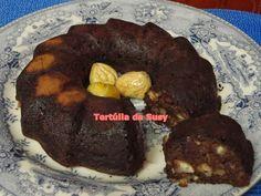 Bundt cake de chocolate e castanhas http://tertuliadasusy.blogspot.pt/2013/10/bundt-cake-de-chocolate-e-castanhas.html