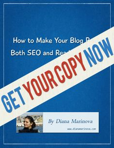 #WhitePaper - How to Make Your Blog Posts both SEO and Readers Friendly - subscribe to my newsletter or pay with a tweet to get it for FREE :)