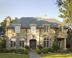 Awesome French Country Exterior Design Ideas For Home - French Country is a popular home design style nowadays, both exterior and interior. This article addresses the French Country home design style on the. French Country Exterior, Country Home Exteriors, Country House Plans, Country Homes, French Cottage, French Country House, French Country Decorating, French House Plans, French Houses