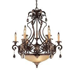 Savoy House Chinquapin Moroccan Bronze 9 Light Chandelier 1-7181-9-241 #SavoyHouse