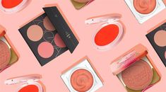 The+blusher+trend+that+Japanese+women+love+(and+it+suits+everyone) #HowToCleanMakeupBrushes Makeup Dupes, Eye Makeup, How To Apply Bronzer, Blusher Brush, Asian Make Up, Orange Lips, Japan Woman, Glass Skin, How To Clean Makeup Brushes