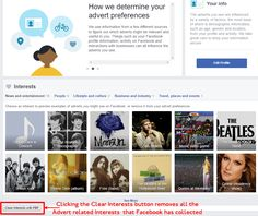 Make Facebook, Clean Up, Top Rated, More Fun, Ads, Activities, Button, Free, Buttons