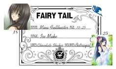 """""""Mina Fullbuster's Info"""" by yunalesca-cecilia-sakura on Polyvore featuring art"""